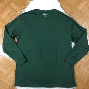 Duluth Trading Co Green Longtail T T-shirt